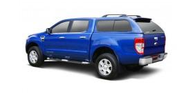 HARD TOP SLINE GLS FORD RANGER 2012+ SUPER CAB AVEC VITRES GRIS 18G