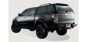 HARD TOP ACIER FORD RANGER 2012+ DOUBLE CAB NOIR 16W Ford Ranger